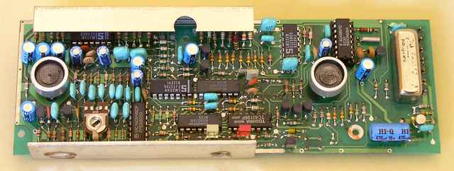 The element side of the ultrasonic sensor - 1989, Elboxrf