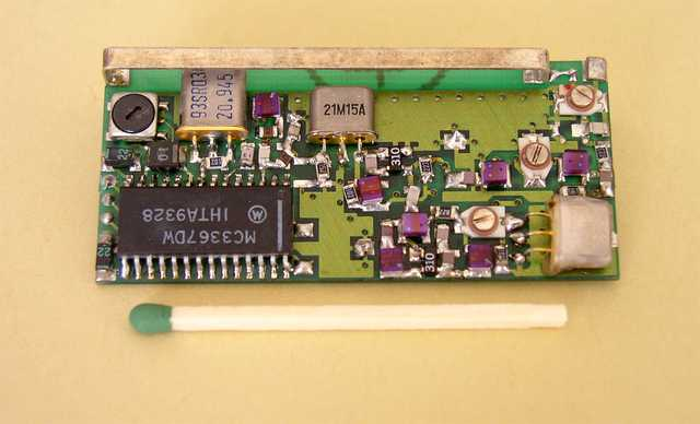 The two IF frequencies superheterodyne receiver  - 1993, Elboxrf