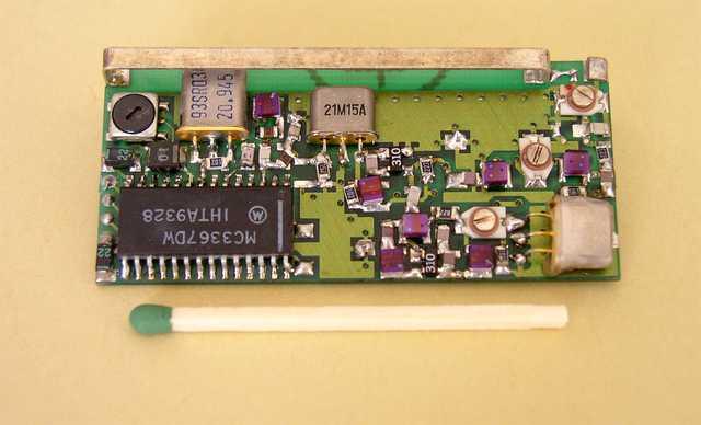 Superheterodynowy odbiornik z dwiema częstotliwościami podnośnymi - 1993, Elboxrf