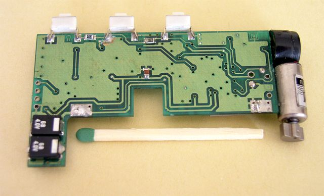 Remaining components of the pager receiver - 1993, Elboxrf