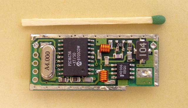 The active RFID tag, microcontroller side - 1995, Elboxrf