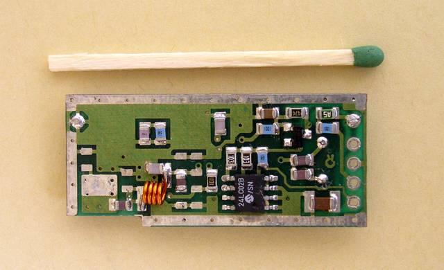 Radiowy, aktywny znacznik RFID - 1995, Elboxrf