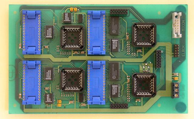 The main CPU unit of the active RFID tag - 1995, Elboxrf