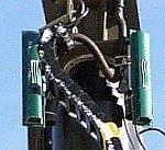 Antena do wojskowych systemów telekomunikacyjnych